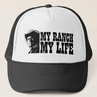 Casquette Mon ranch ma vie, cadeau pour un agriculteur ou