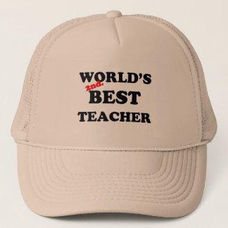 Casquette Monde 2ème. Le meilleur professeur
