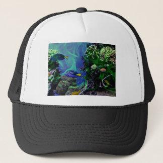 Casquette Monde imaginaire sous-marin des poissons