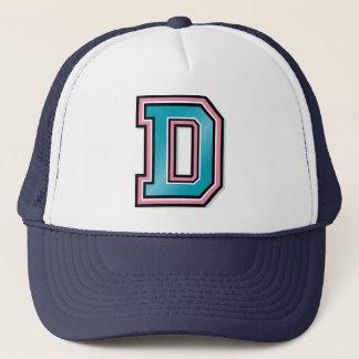 Casquette Monogramme de la lettre D