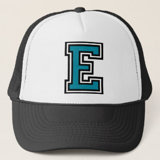 """Casquette Monogramme de la lettre """"E"""""""