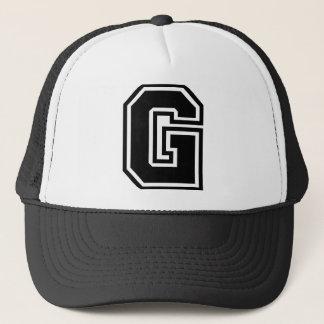 """Casquette Monogramme de la lettre """"G"""""""