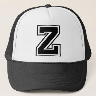 """Casquette Monogramme de la lettre """"Z"""""""