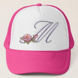 Casquette Monogramme rose M de roses