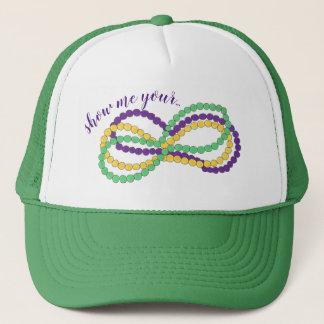 Casquette Montrez-moi vos perles la Nouvelle-Orléans NOLA de