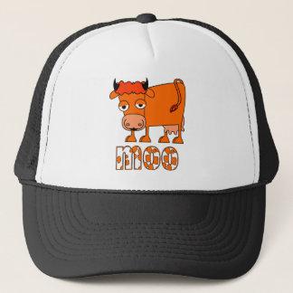 Casquette MOO - Vache à gingembre