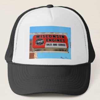 Casquette Moteurs vintages de Kingman le Wisconsin de
