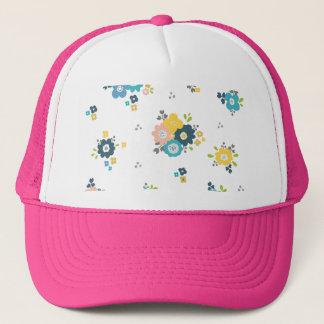 Casquette Motif floral coloré