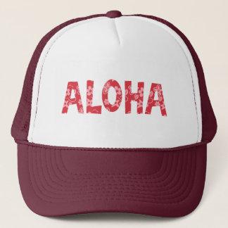 Casquette Motif floral de froid Aloha