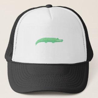 Casquette Motif sans couture de crocodiles drôles