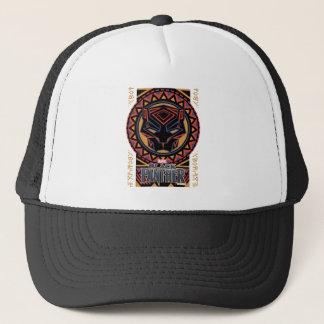 Casquette Motif tribal de tête de panthère de la panthère