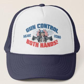 Casquette Moyens de contrôle des armes utilisant la pro