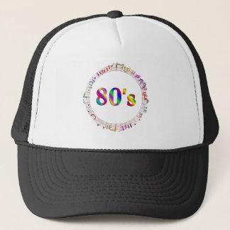 Casquette musique 80s
