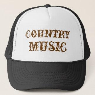 Casquette musique country