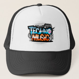 Casquette Musique de techno