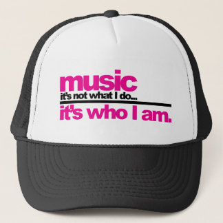 Casquette Musique - qui je suis