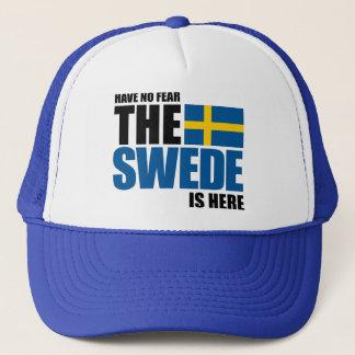Casquette N'ayez aucune crainte, le Suédois est ici