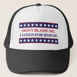 Casquette Ne me blâmez pas que j'ai voté pour Bernie