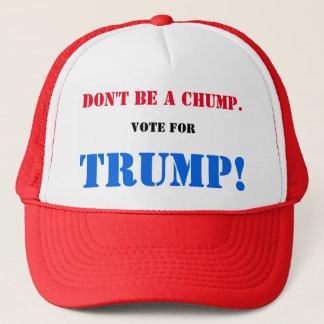 Casquette Ne soyez pas un IDIOT. Votez pour l'ATOUT !