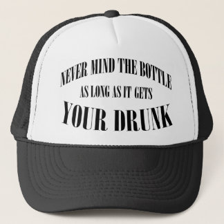 Casquette Ne vous occupez jamais de la bouteille…