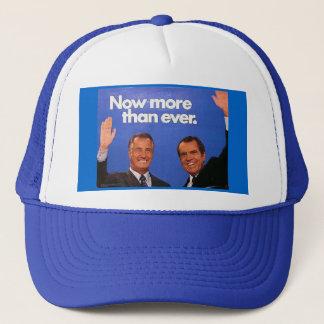 Casquette Nixon/casquette d'Agnew