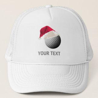 Casquette Noël de golf