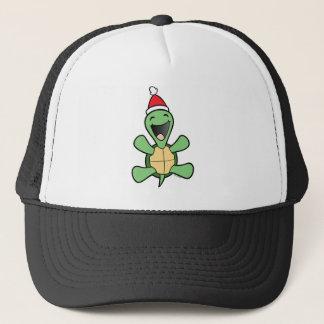 Casquette Noël heureux de tortue