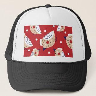 Casquette Noël, vacances, décorations d'arbre, motif