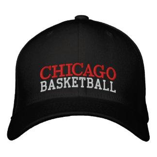 Casquette noir de basket-ball de CHICAGO