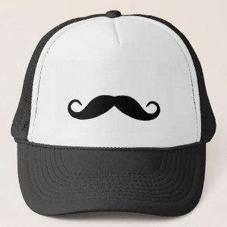 Casquette noir de moustache