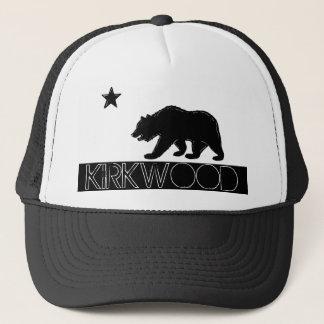 Casquette noir d'ours de drapeau blanc de Kirkwood