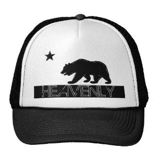 Casquette noir merveilleux de drapeau d'ours blanc