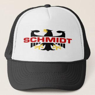 Casquette Nom de famille de Schmidt
