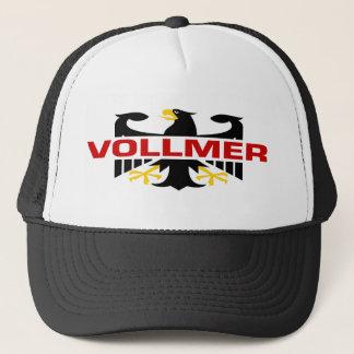 Casquette Nom de famille de Vollmer