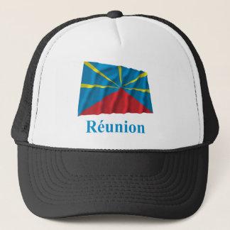 Casquette Nom de ondulation proposé de drapeau de Reunion