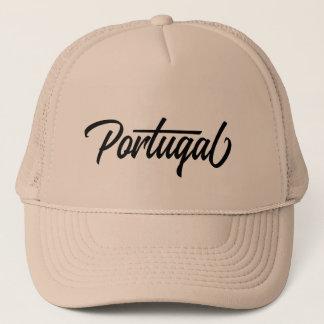 Casquette Nom du pays de typographie pour le Portugal