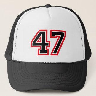 """Casquette Nombre """"47"""""""