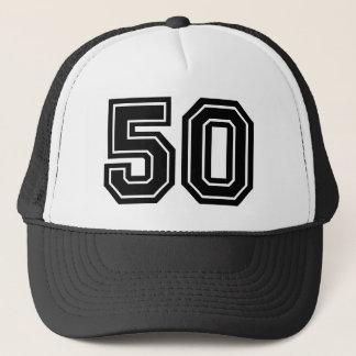 Casquette Nombre classique 50