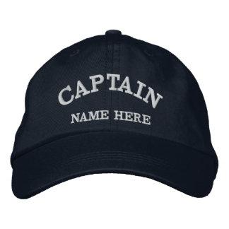 Casquette nommé de marin de capitaines