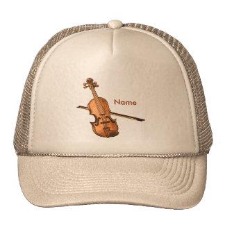 Casquette nommé fait sur commande de violon de