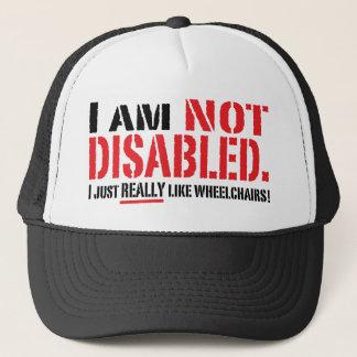Casquette non handicapé