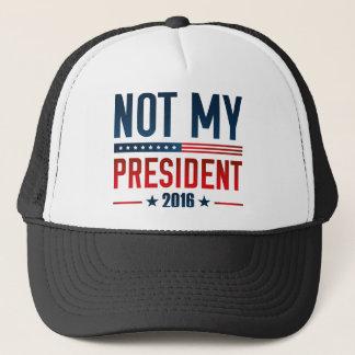 Casquette Non mon président