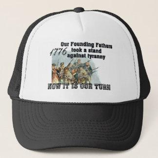 Casquette Nos pères fondateurs contre la tyrannie