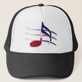 Casquette Note patriotique de musique