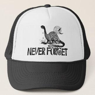 Casquette N'oubliez jamais le dinosaure