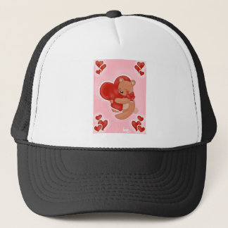 Casquette Nounours de chauffage de coeur