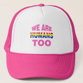 Casquette Nous sommes des humains aussi