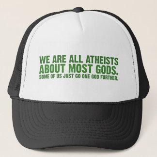 Casquette Nous sommes tous les athées au sujet de la plupart