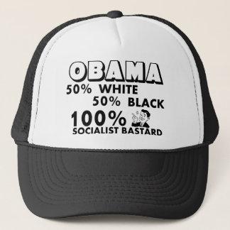 Casquette Obama : Bâtard de socialiste de 100% !