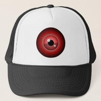 Casquette Oeil rouge magique mauvais du diable